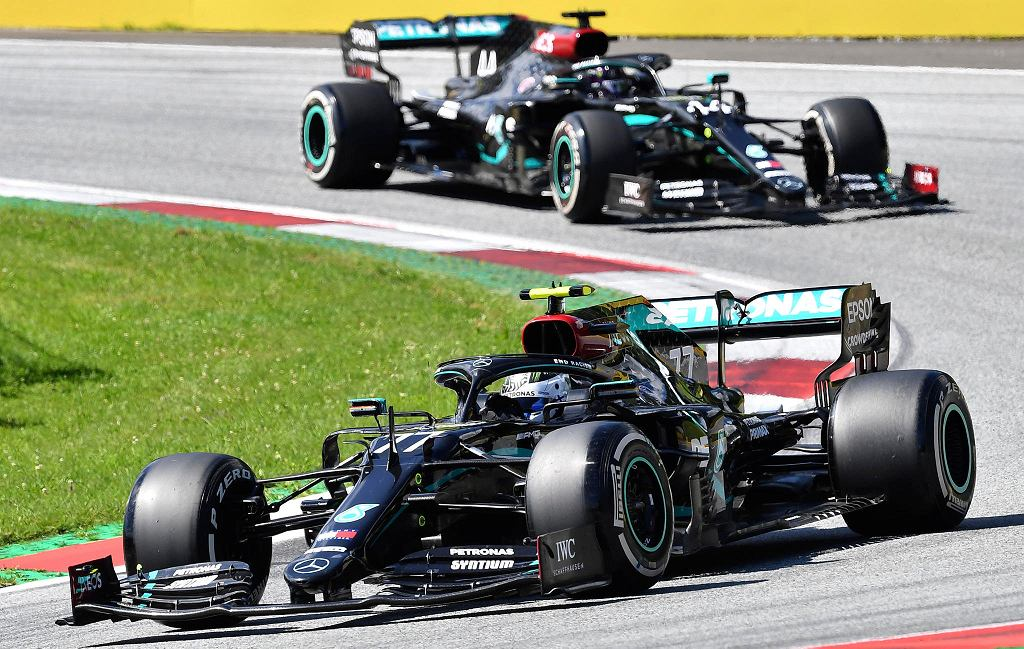 Formuła 1. Bolidy Mercedesa