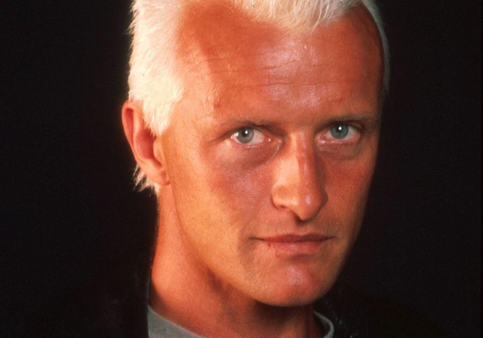 Rutger Hauer jako Roy Batty w filmie 'Blade Runner'