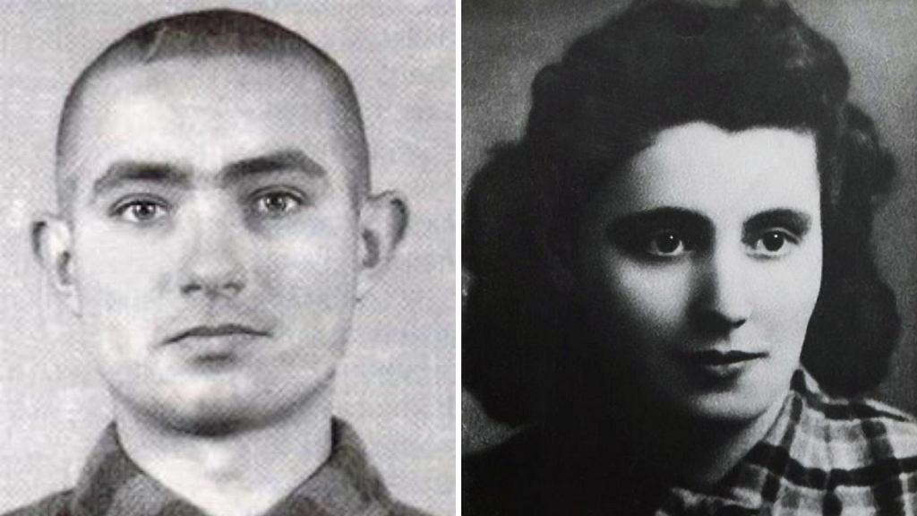 Edward Galiński i Mala Zimetbaum