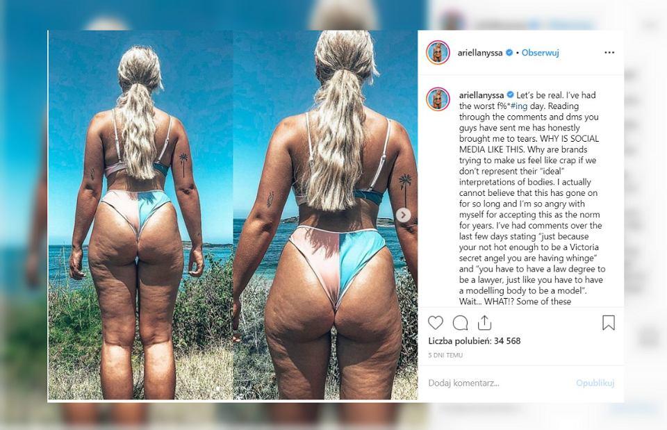 Ariella Nyssa pokazała zdjęcia, na których widać jej