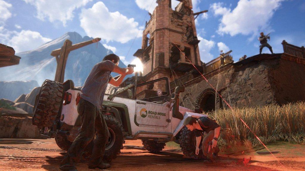 Uncharted 4 - Kres złodzieja