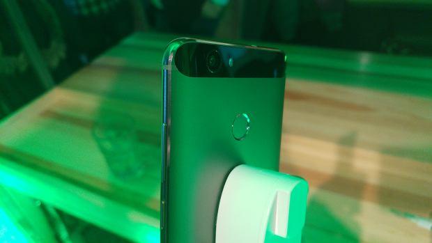Główny aparat i skaner odcisków palców Huawei Nova
