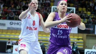 Pokazowy mecz koszykarek w Gdyni: Zagraniczne Gwiazdy BLK - Polska 70:64