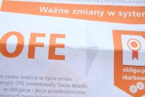 OFE nie dostaną odszkodowań za zakaz reklamy