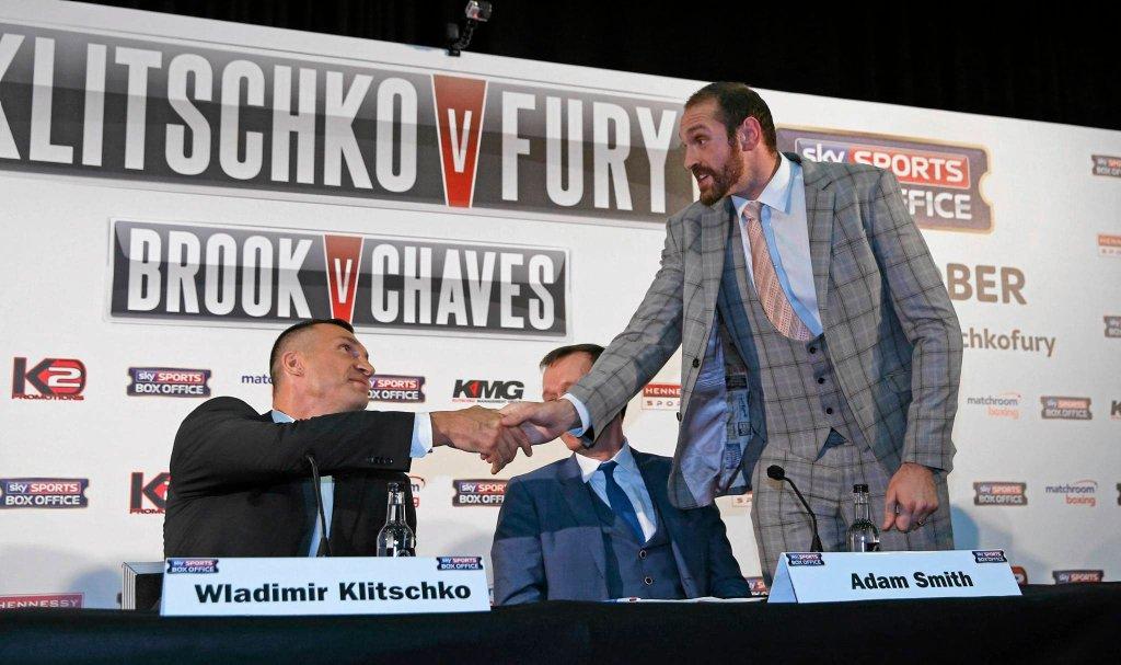 Władimir Kliczko i Tyson Fury