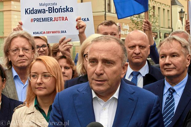 Wybory parlamentarne 2019. Grzegorz Schetyna