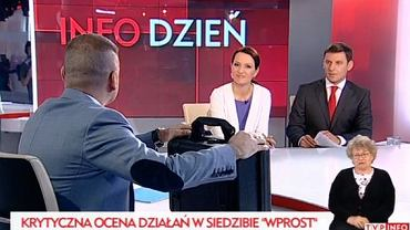 Karczyńśki przyszedł do studia TVP Info ze słynną już teczką
