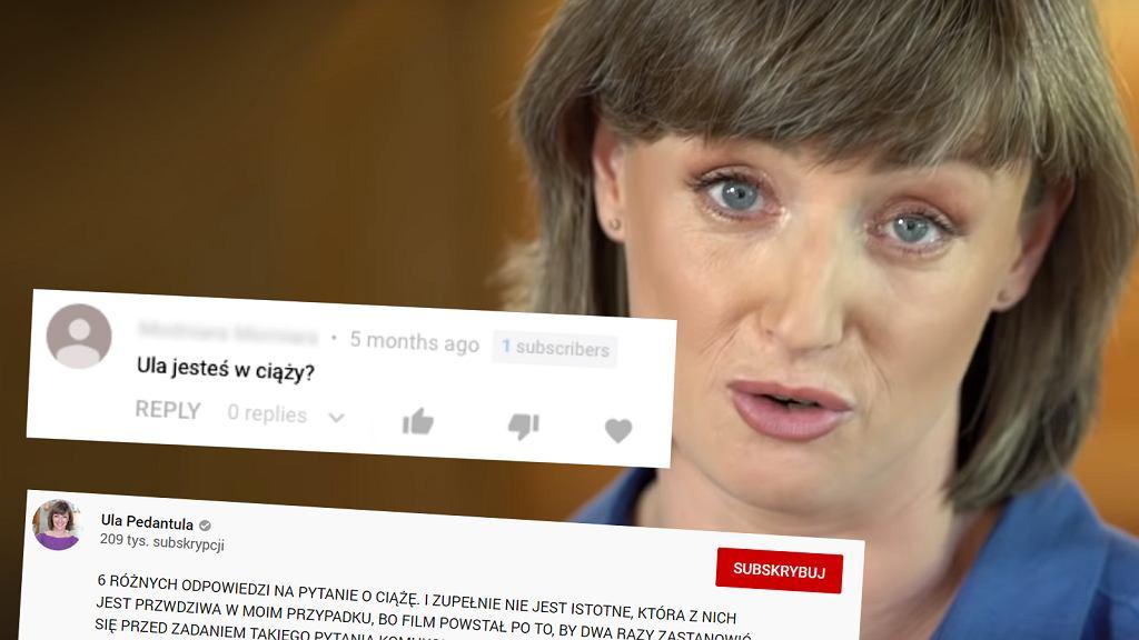 Ula Chincz opublikowała filmik, w którym przedstawia odpowiedzi na pytanie 'czy jesteś w ciąży?'