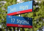 Absurdy z nazwami ulic w Warszawie. Gdzie jest skrzyżowanie trzech ulic Poczty Gdańskiej?