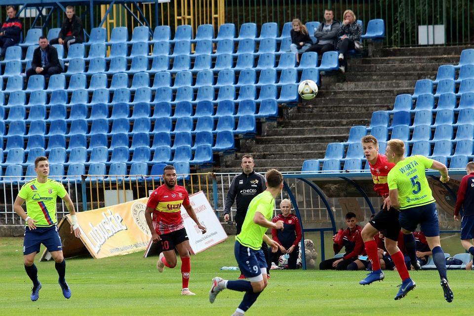 Zdjęcie numer 9 w galerii - Warta nie miała szans w meczu ze Ślęzą Wrocław. Pozostaje bez żadnej zdobyczy na swoim boisku [ZDJĘCIA]