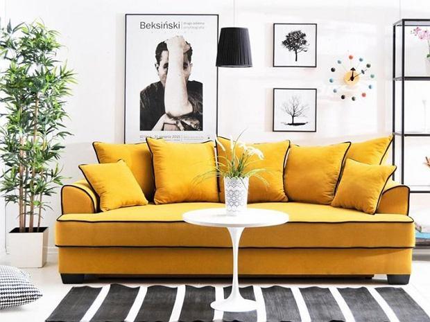 Musztardowe fotele i sofy - ten kolor to hit rozpoczynającej się jesieni