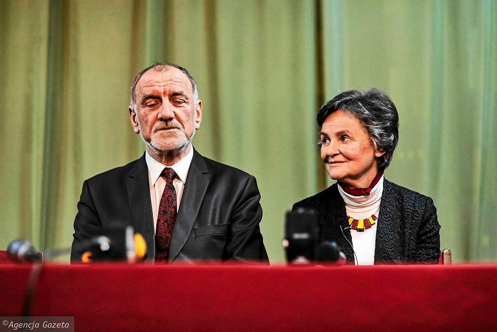 Jan Duda i Janina Milewicz-Duda