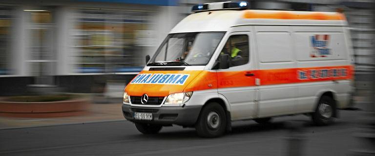 Tragiczny wypadek w Szczecinie. Nie żyje jedna osoba, dzieci wśród rannych