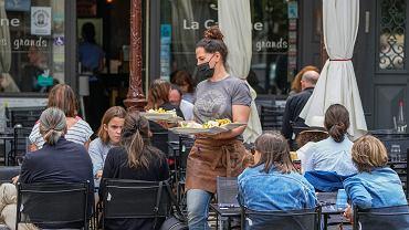 Virus Outbreak France Restaurants