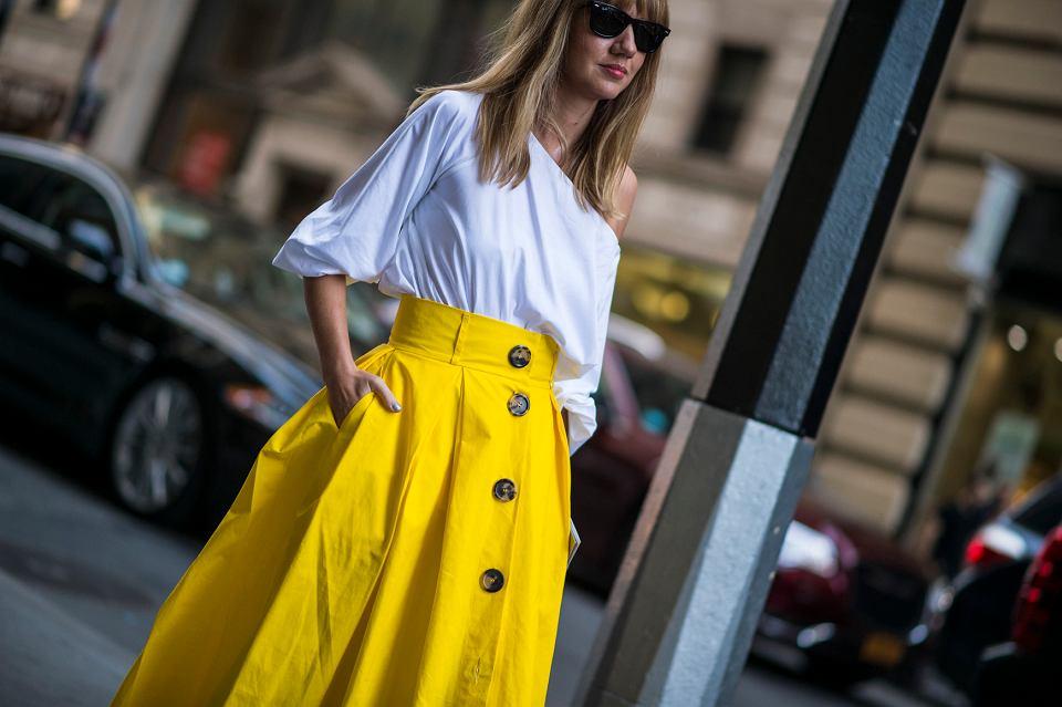 Te spódnice z wysokim stanem są eleganckie i bardzo kobiece! Markowe modele za grosze!