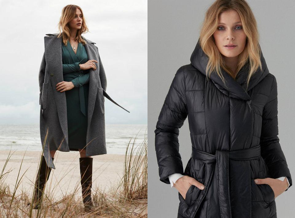 Ciepłe płaszcze na jesień