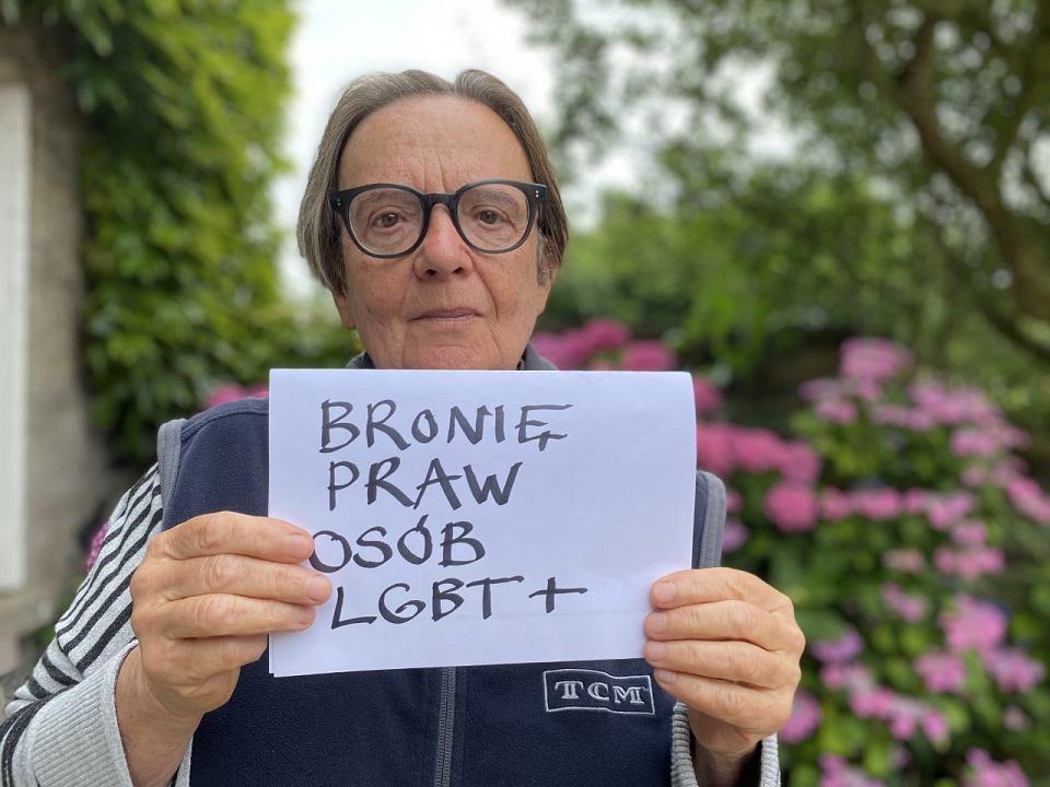 Agnieszka Holland w kampanii Wszyscy jesteśmy rzecznikami