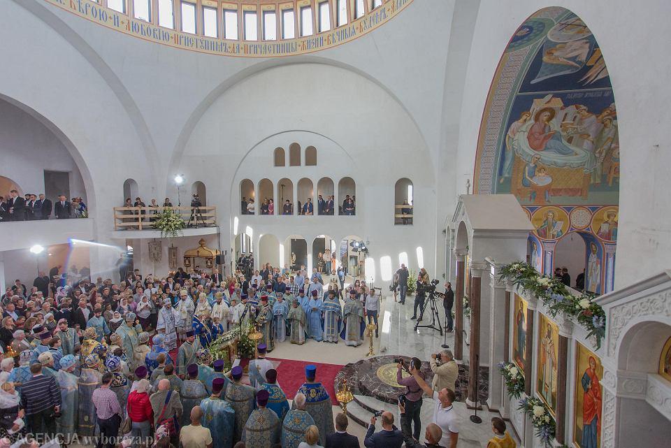 Zdjęcie numer 10 w galerii - Hagia Sophia w Warszawie niczym w Stambule. Pierwsza od zaborów nowa cerkiew w stolicy przyjęła wiernych