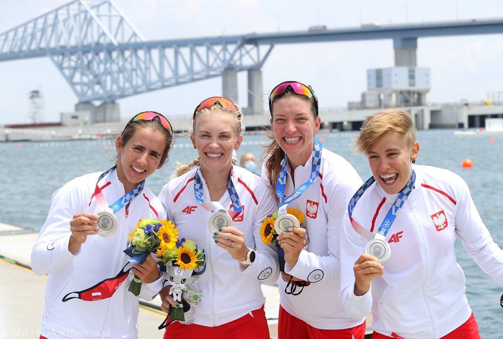 2Srebrny medal dla czwrki podwjnej kobiet w Tokio