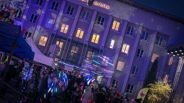 Manufaktura św. Mikołaja przed Urzędem miasta w Sosnowcu