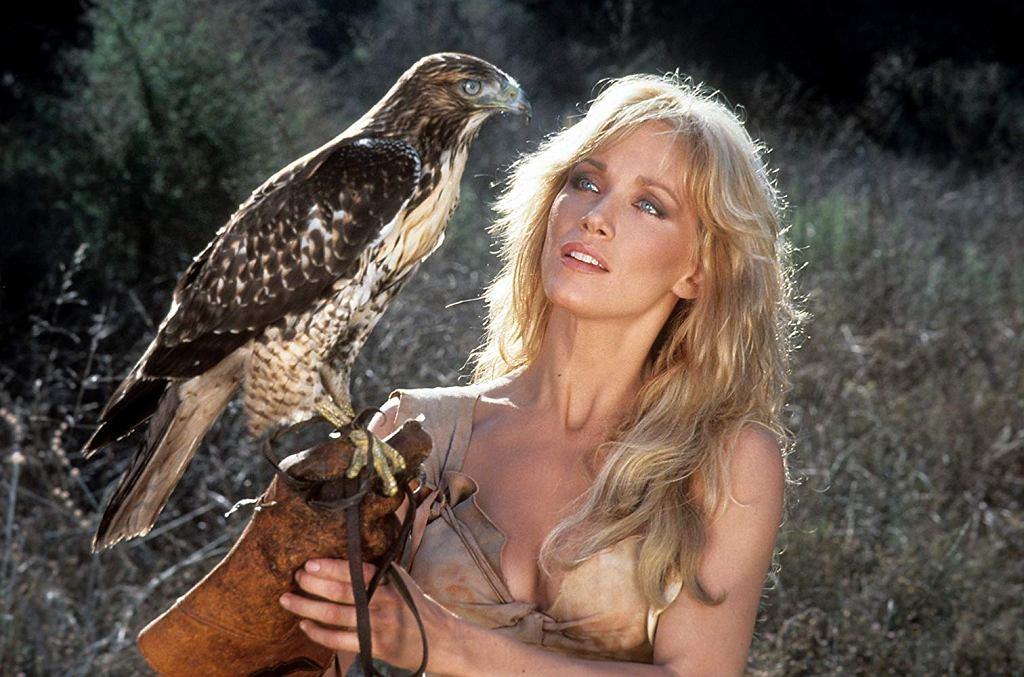 Tanya Roberts w filmie 'Sheena - królowa dżungli' / kadr z filmu