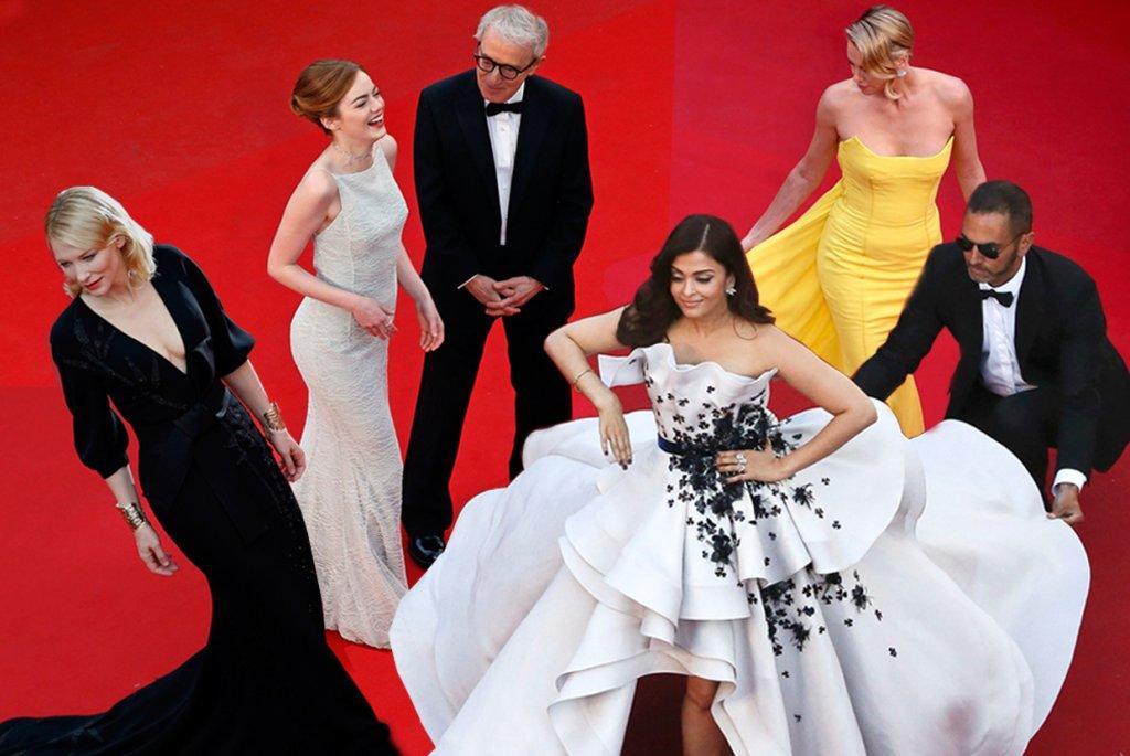 Cannes 2015 - czerwony dywan