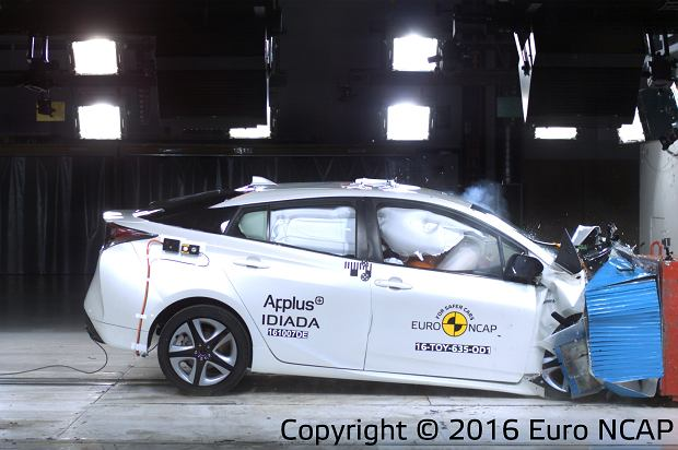 Toyota Prius Euro NCAP