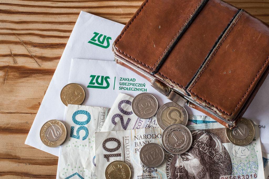 Pieniądze, ZUS