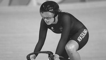 Olivia Podmore (Nowa Zelandia); kolarka. Źródło: Twitter