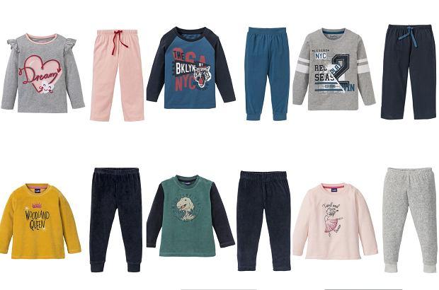 Lidl. Promocja na ciepłe piżamy dla dzieci