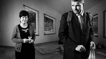 Krystyna Fuławka, przewodnicząca pszczyńskiego koła Polskiego Stowarzyszenia na rzecz Osób z Niepełnosprawnością Intelektualną, z 38-letnim, niepełnosprawnym synem Maćkiem