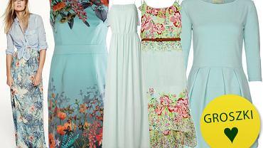 HIT: błękitne sukienki - ponad 40 propozycji