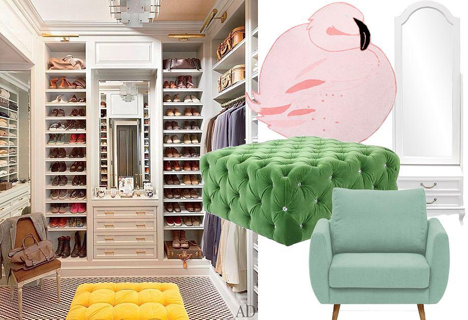 Garderoba - aranżacja wnętrza