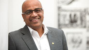 Arun Bansal,  wiceprezes Ericsson odpowiedzialny za rynki Europy i Ameryki Łacińskiej.