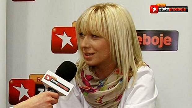 Kasia Cerekwicka w Radiu Złote Przeboje