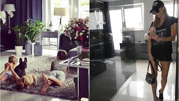 Małgorzata Rozenek uwielbia na Instagramie chwalić się nie tylko swoją figurą, ale także swoim życiem. Spora część tego życia toczy się w domu, dzięki czemu wiemy, jak mieszkają 'polscy Beckhamowie'. Jest nowocześnie, elegancko i na bogato. Zobaczcie tylko, ile par butów ma Rozenek w garderobie!