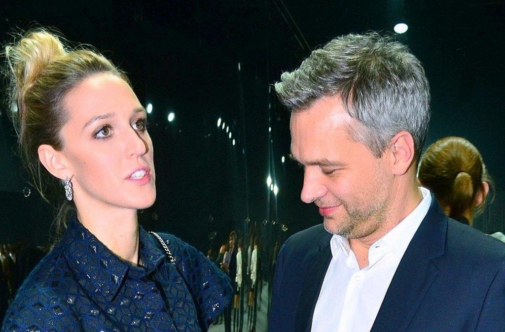 Aleksandra Żebrowska i Michał Żebrowski