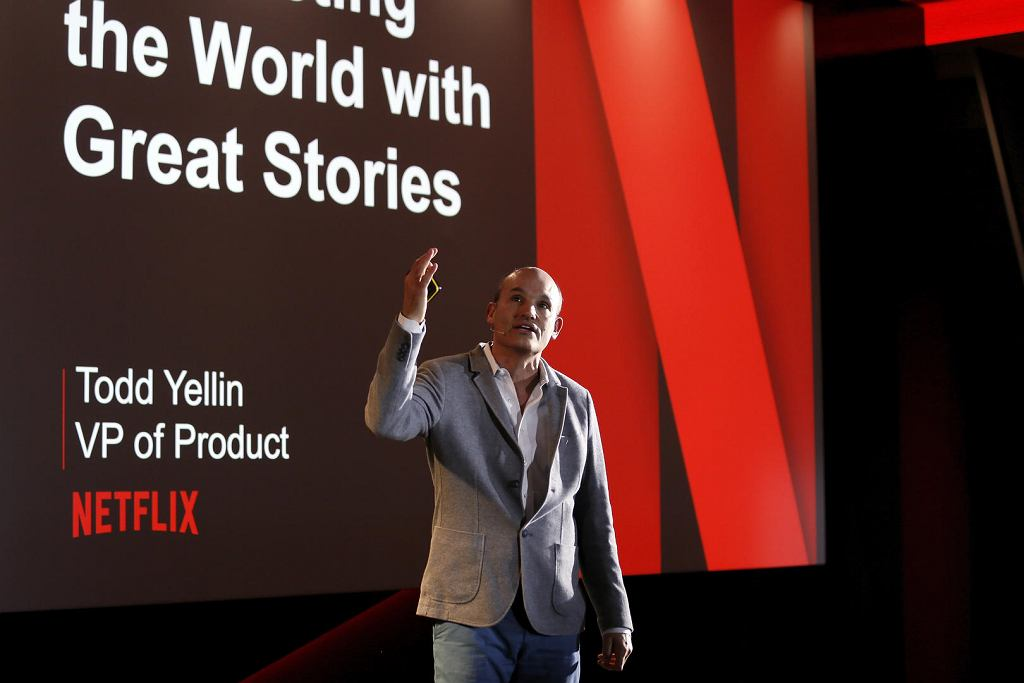 Tod Yellin, VP of Product, Netflix