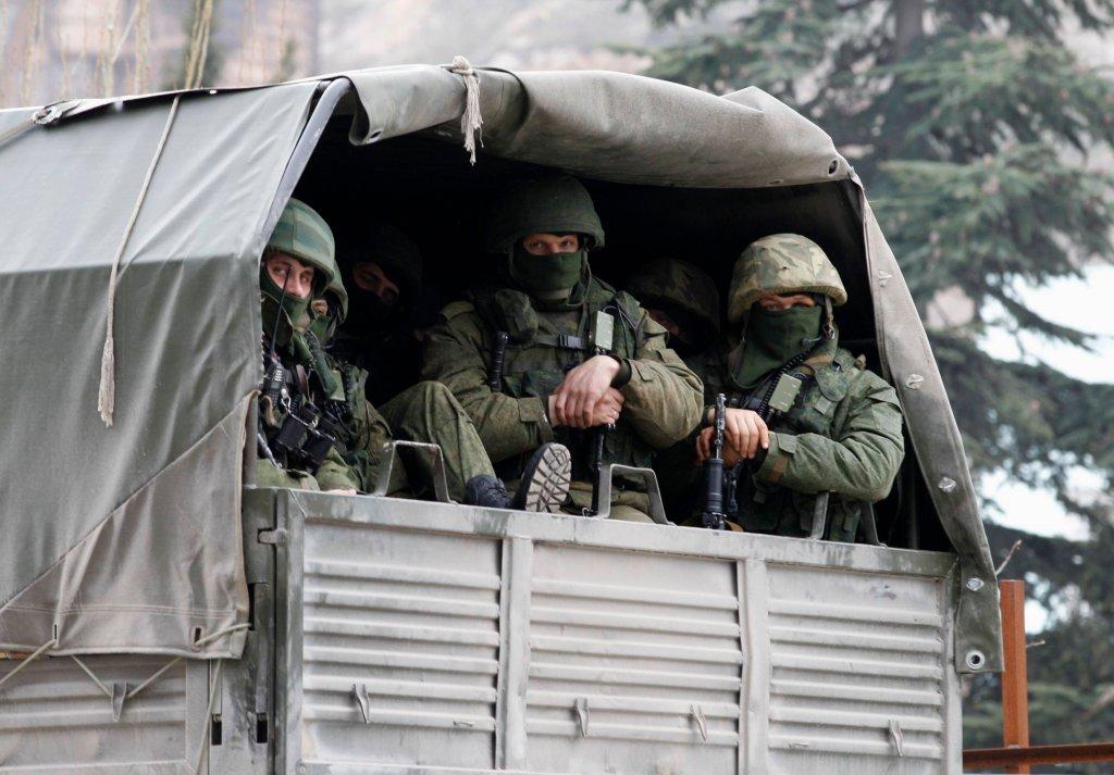 Rosyjsie wojska na ulicach Bałakławy