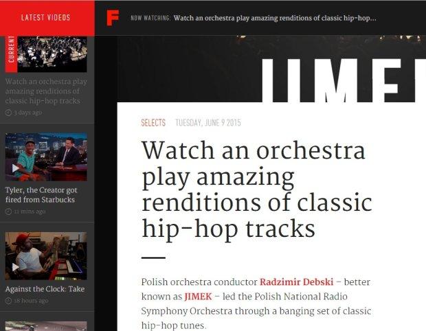 Fact Magazine o koncercie Dębskiego