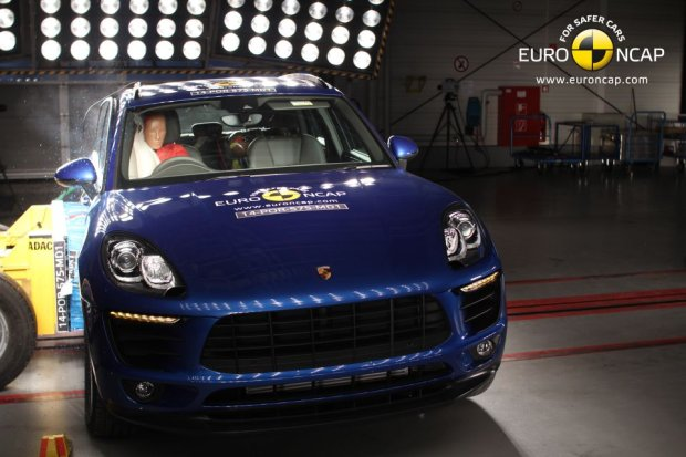 Porsche Macan (fot. Euro NCAP)