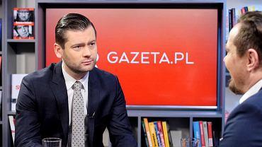Kamil Bortniczuk w porannej rozmowie Gazeta.pl.