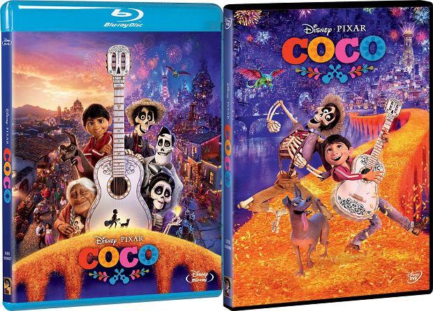 'COCO' - okładki DVD i Blu-ray