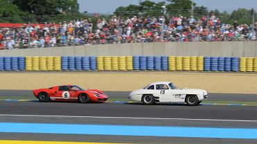 Le Mans Legend 2015 | Ford GT40 1965 #6 | Mercedes 300M Gullwing 1955 #19