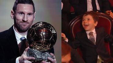 Kamery nagrały reakcję syna Leo Messiego na zdobycie Złotej Piłki. Film jest hitem internetu [WIDEO]