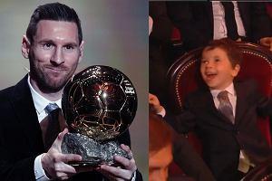 Kamery nagrały reakcję syna Messiego na sukces ojca. Film jest hitem internetu [WIDEO]