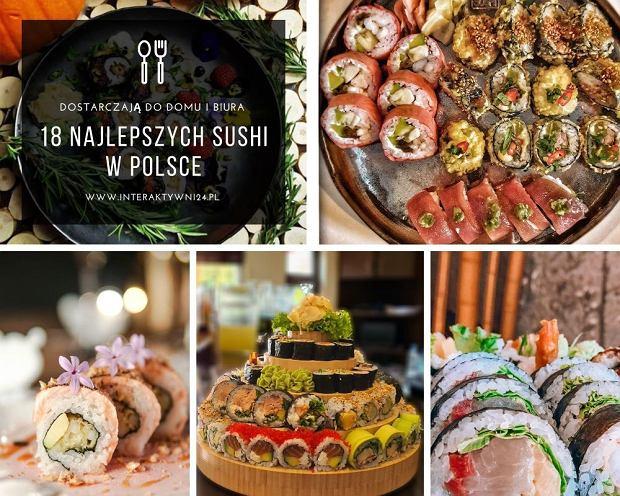 18 najlepszych sushi w Polsce