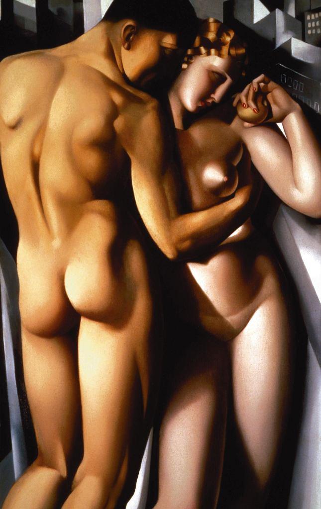 'Adam i Ewa', 1932 r., Tamara Łempicka