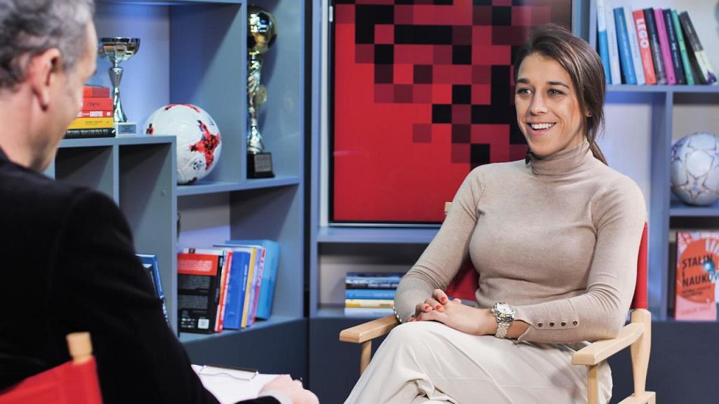 Joanna Jędrzejczyk w programie 'Wilkowicz Sam na Sam'