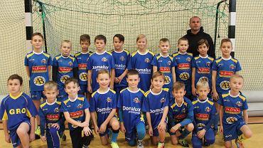 Wychowankowie szkółki piłkarskiej Sparty Leżajsk